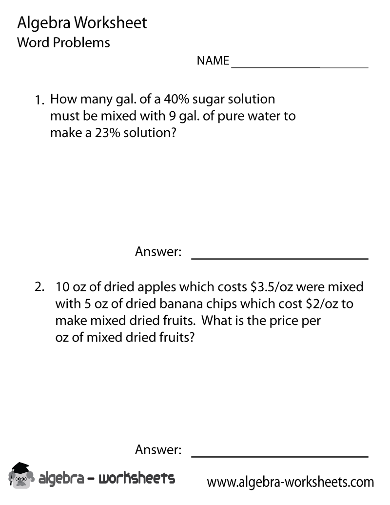 amazing word problem solver online photos worksheet mathematics  print the algebra word problems solver worksheet printable
